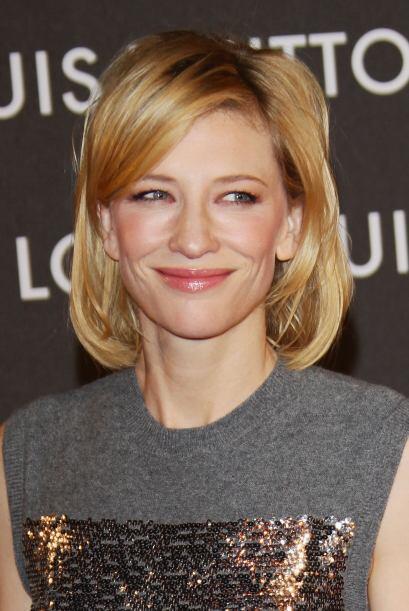 Cate Blanchett: Aunque esta actriz ya tiene sus años la verdad se ve muy...