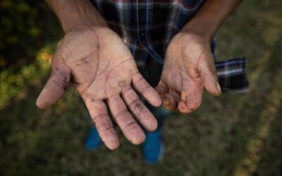 Victoriano, 46, de El Salvador, lleva 17 años en Estados Unidos r...