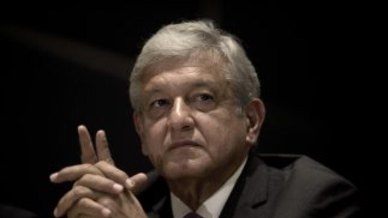 El candidato presidencial de las izquierdas en México, Andrés Manuel Lóp...