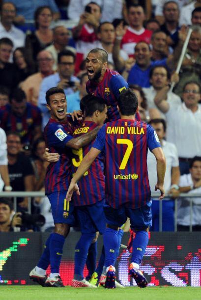 En menos de 10 minutos, los barcelonistas revolucionaron el Bernabéu.