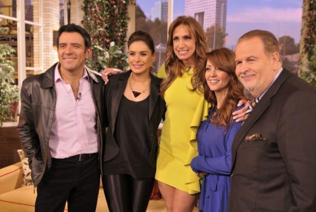 Como parte de su visita por México, Raúl y Lili estuvieron de invitados...