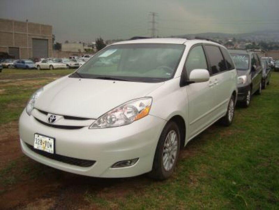 Camioneta Sienna de Toyota, modelo 2007. (Foto: Cortesía SAE)