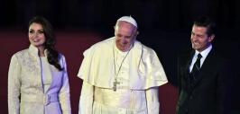 Así fue la llegada del Papa Francisco a México.