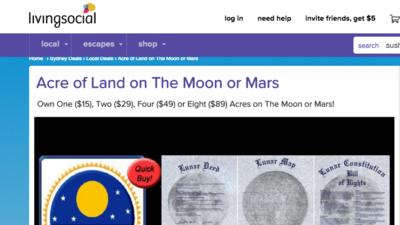 Terrenito en Marte o La Luna
