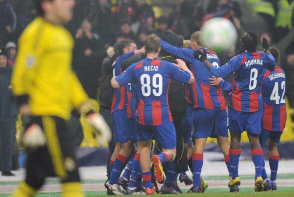 Su disparo no pudo ser parado por Casillas y el CSKA lograba lo inesperado.