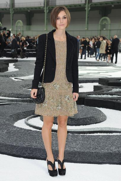 """A Keira Knightley no le bastó interpretar a """"Coco"""" Chanel en un cortomet..."""