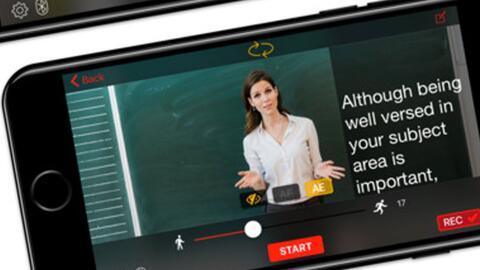 ¿Cómo tener un teleprompter en el celular?