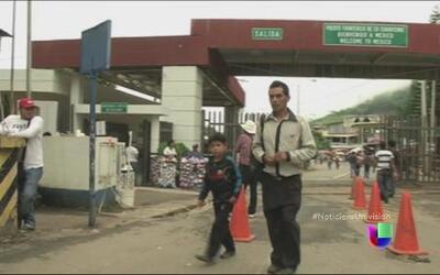 ¿Qué hacen las autoridades en Guatemala para frenar los cruces en la fro...