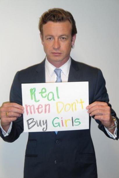 Otro actor que compartió el mismo mensaje en redes fue Simon Baker.Mira...