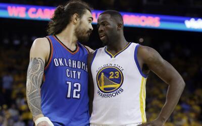Thunder buscará eliminar a los Warriors en Oklahoma esta noche.