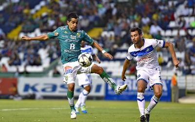 León rescató el empate ante Celaya en la Copa MX