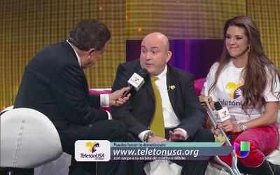 A Alicia Machado le toca muy de cerca la ayuda de Teletón USA