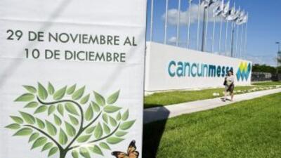 Representantes de 194 países se reunieron en Cancún en la cumbre del clima.