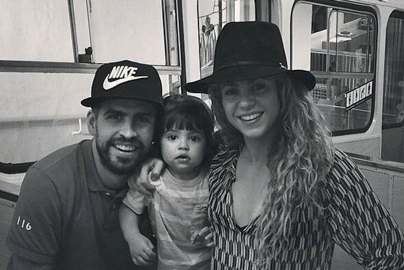 Junto a Piqué y Milán han formado una bonita familia, y pr...