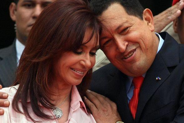 La presidenta argentina, Cristina Fernández de  Kirchner, felicitó al ma...
