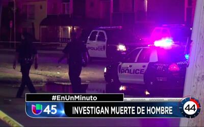 En Un Minuto Houston: Un hombre perdió la vida tras ser arrollado por ot...