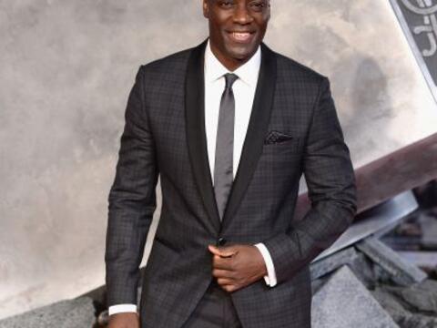 Adewale Akinnuoye-Agbaje, quien interpreta a Kurse y Algrim 'El Fuerte'...