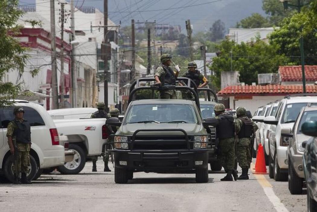 A pesar del despliegue policíaco y militar por parte del gobierno de Fel...