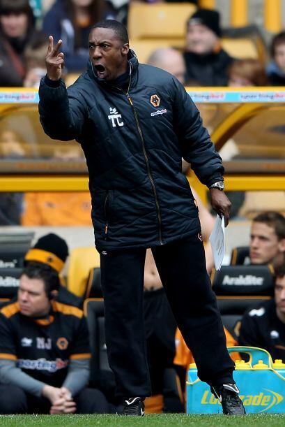 El director técnico del Wolverhampton Terry Connor no dio cr&eacu...
