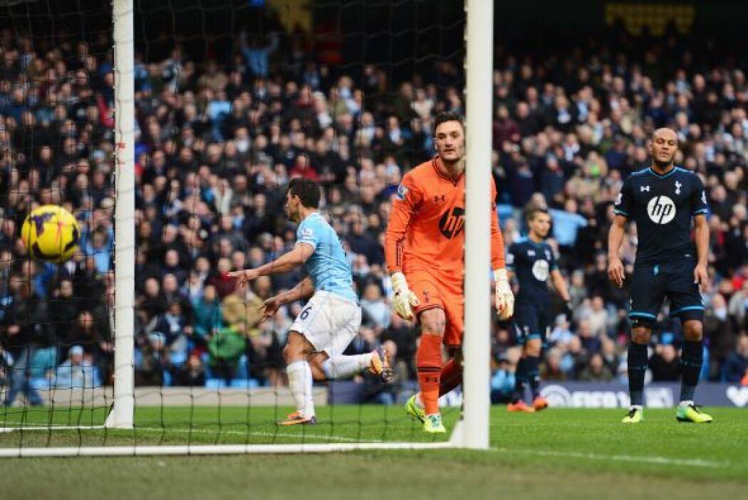 Al minuto 41, el disparo del argentino se convertía en el 3-0.