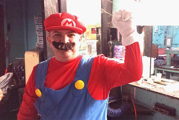 Caraturky se transformó en Mario Bros. Escucha El Show de Ra&uacu...