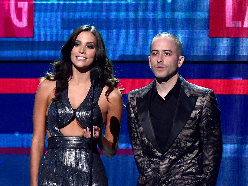 Génesis Rodriguez y Yandel fueron los encargados de presentar a los nomi...