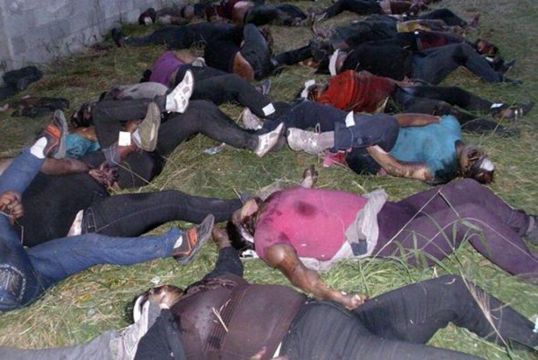 En agosto del 2010 se le responsabilizó de la masacre de 72 inmigrantes...