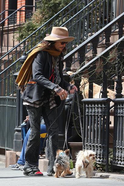 A los perros les gustó el olor y la gente de West Village,