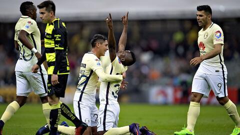 América logra su primer triunfo del año al derrotar a Santos en la Copa MX