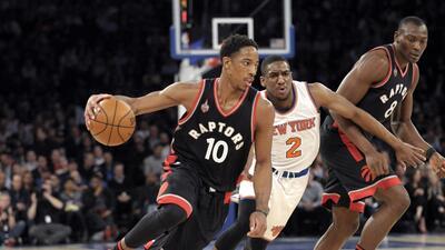 Toronto venció 122-95 a Nueva York