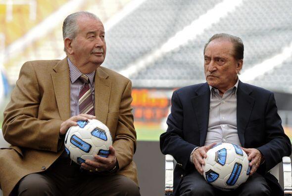 Julio Grondona, presidente de la Asociación del fútbol Argentino, estuvo...