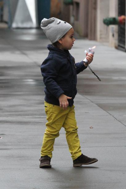 ¡Definitivamente su hijo es uno de los más 'fashionistas' del showbiz! T...