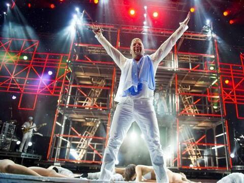 Ricky  tenía previsto presentarse el 16 de octubre en Honduras, p...