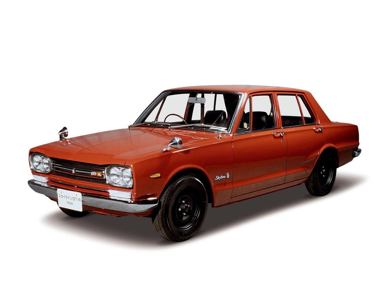 Imágenes de la historia del Nissan GT-R