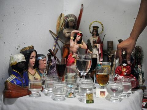 La santería en Venezuela no es secreto para nadie, a finales de l...