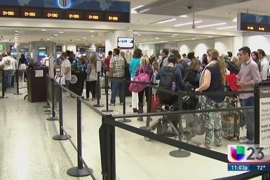 Seguridad extra en aeropuerto