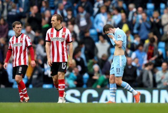 Triste resultado para el conjunto celeste ya que ahora el Manchester Uni...