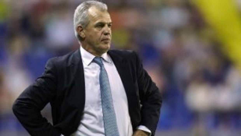 El 'Vasco' no pudo contenerse luego de la derrota con el Almería.