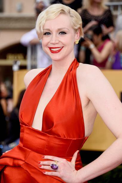 Gwendoline Christie de 'Game of Thrones'. ¿Y si la echamos a los dragone...