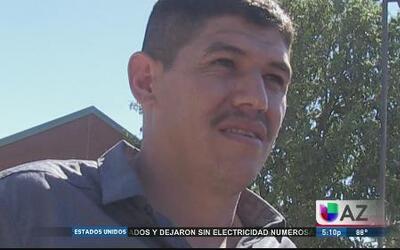 Inmigrante explica cómo fue amenazado por el policía