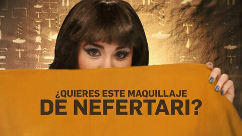 Sencillos pasos para lograr el look de Nefertari en Los Diez Mandamientos