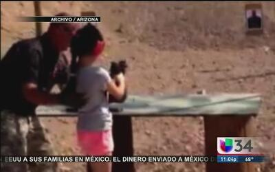 Debate sobre los menores y las armas