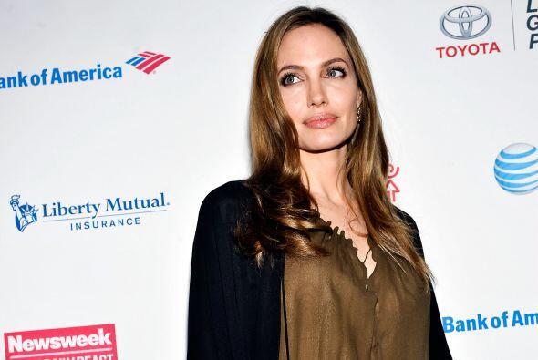 Jolie encabezó el evento como una de la mujer más poderosa e influyentes.
