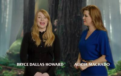 Alicia Machado entrevista a Bryce Dallas Howard