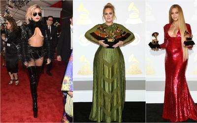 Ellas fueron las mejor y peor vestidas de los Premios Grammy 2017 ¿Estás...