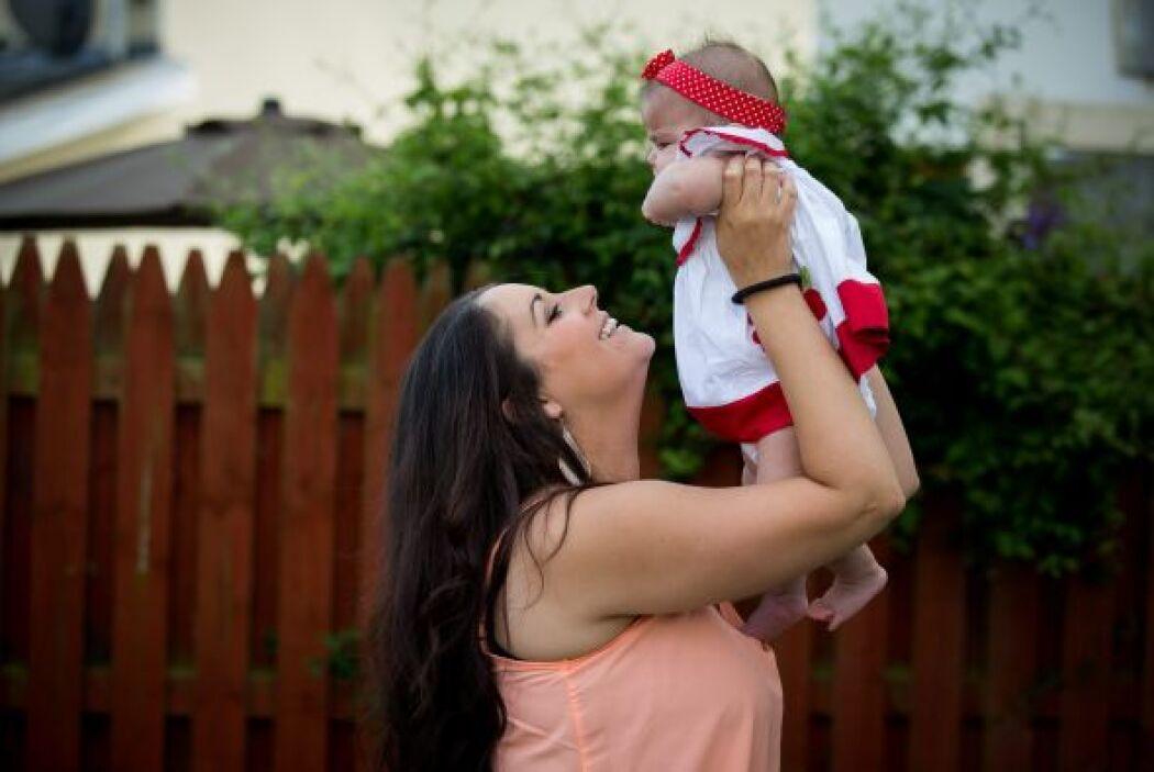 La bebé nació sana, algo increíble, pues además del aborto involuntario...