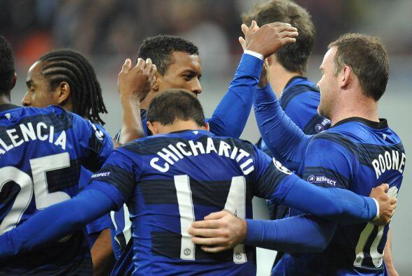 Manchester United sumó una nueva victoria en la UEFA.