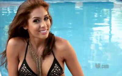 Chanty Vargas, finalista de Nuestra Belleza Latina 2012 en bikini