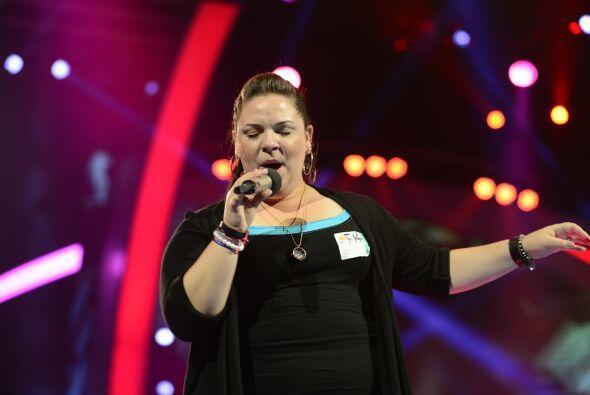 Yazaira López en los ensayos de la primera gala.