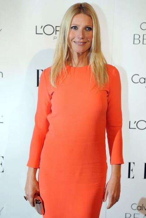 Gwyneth Paltrow fue nombrada como la más guapa del 2012.